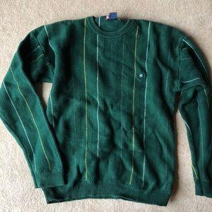 Chaps Ralph Lauren striped knit crewneck sweater